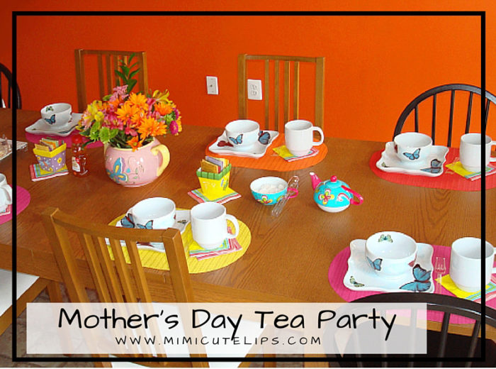 DIY Butterfly tea party Mother's Day Tea Party 2010
