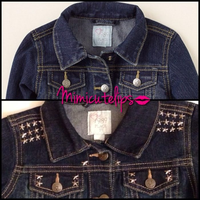 Easy Stud Denim Jacket