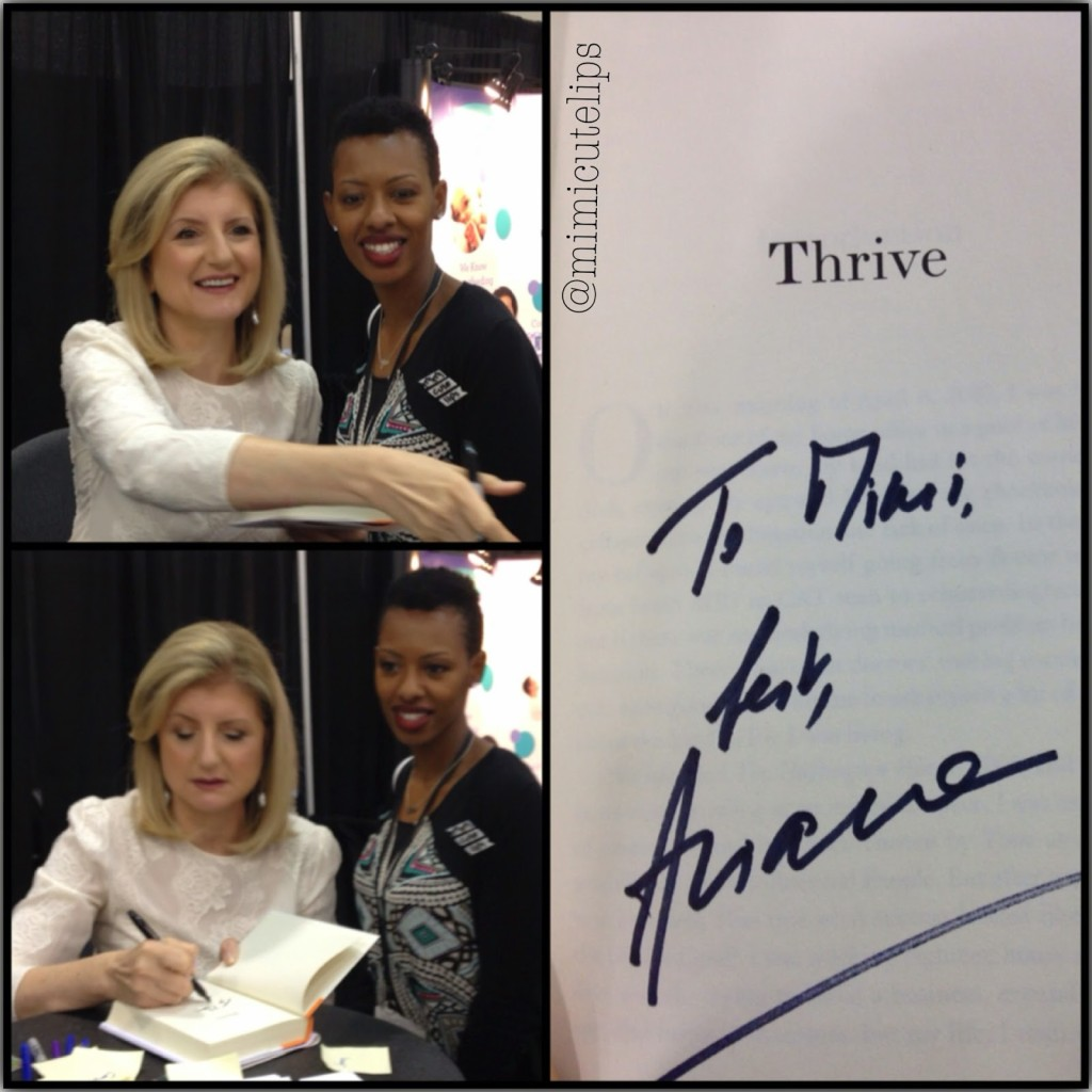 Arianna Huffington of Huffington Post