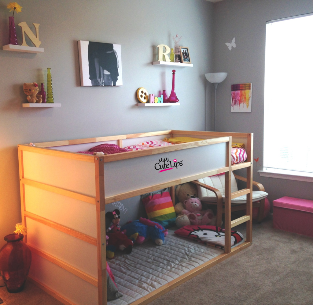 From baby to big girl room makeover 1