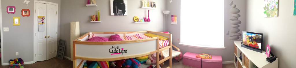 From baby to big girl room makeover 10