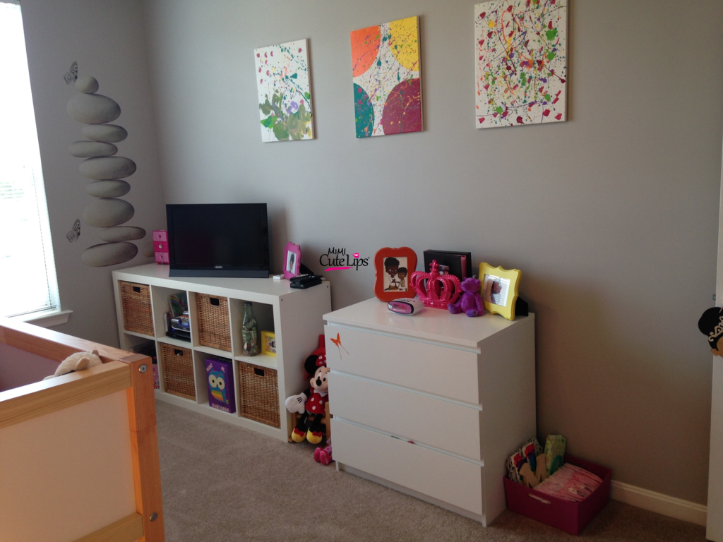From baby to big girl room makeover 2