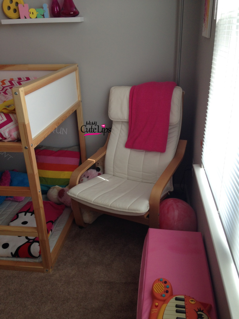 From baby to big girl room makeover 3