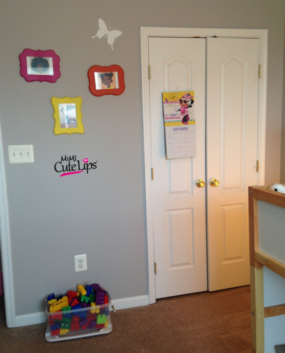 From baby to big girl room makeover 5