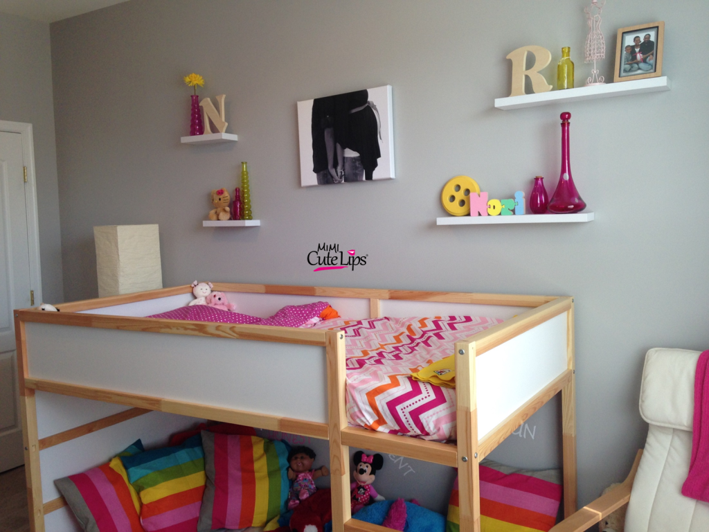 From baby to big girl room makeover 6