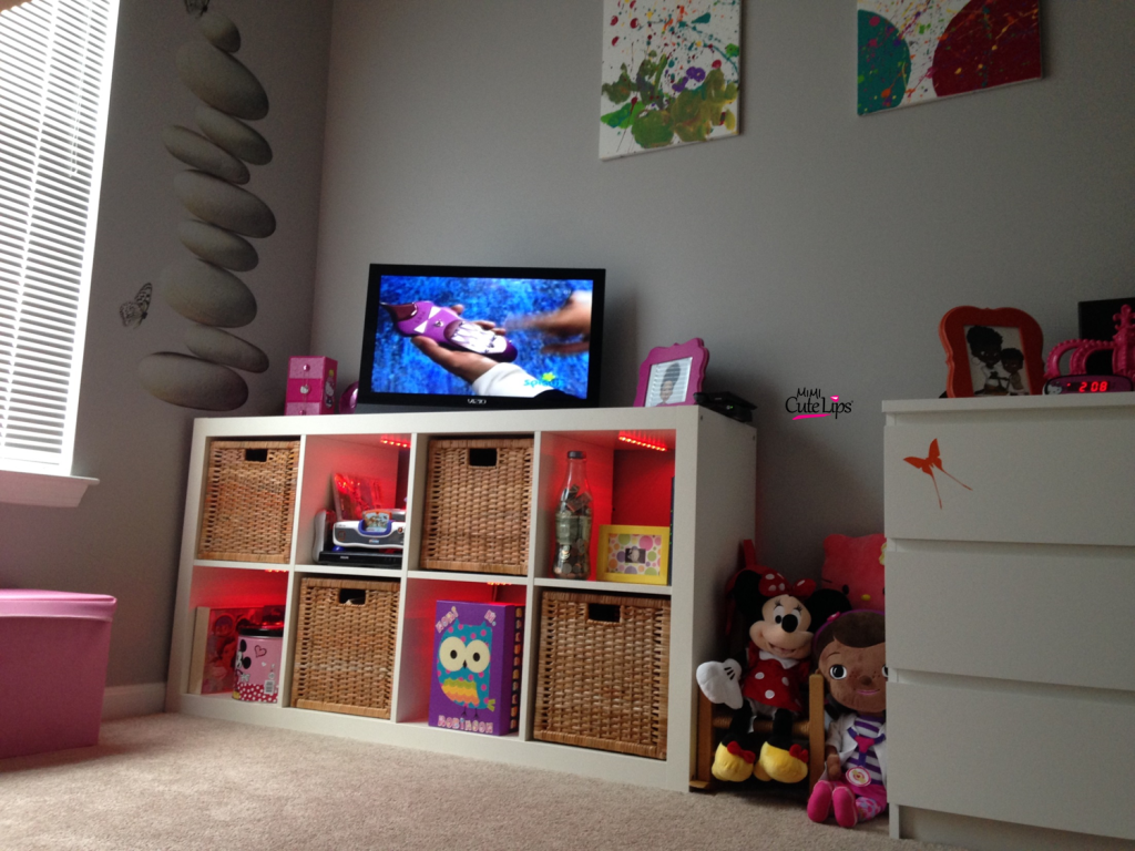 From baby to big girl room makeover 8