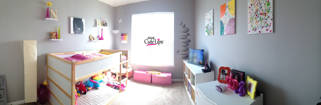 From baby to big girl room makeover 9