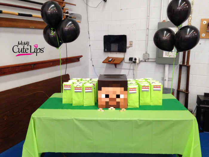 DIY Minecraft Party - MimiCuteLips