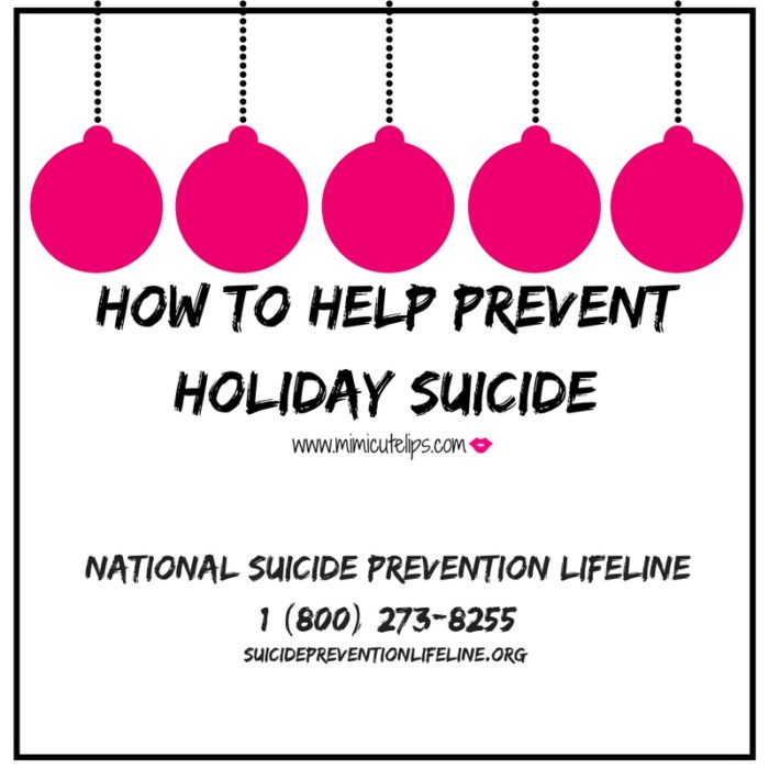 How to Help Prevent Holiday Suicide