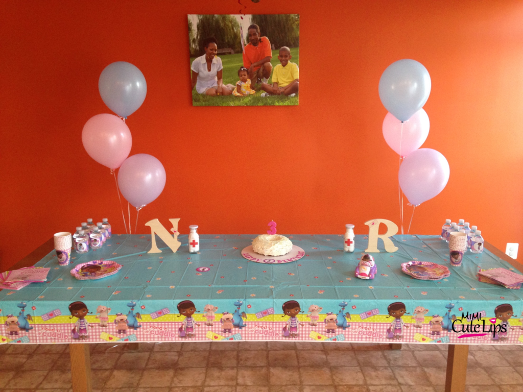 why you should let your child plan their party6 Doc McStuffins Party