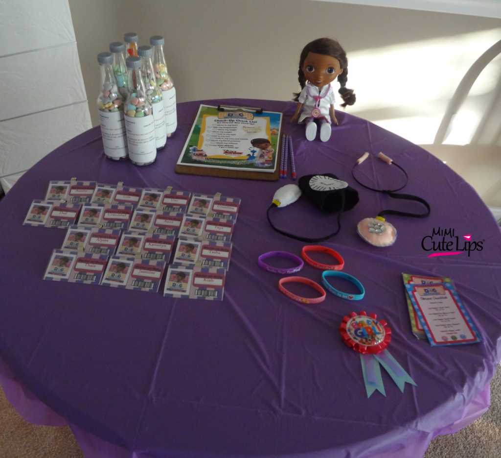 why you should let your child plan their party8 Doc McStuffins Party