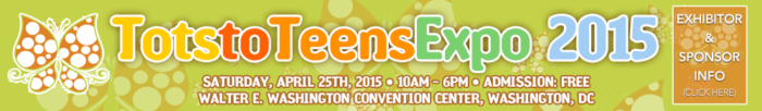 Tots to Teens Expo 2015