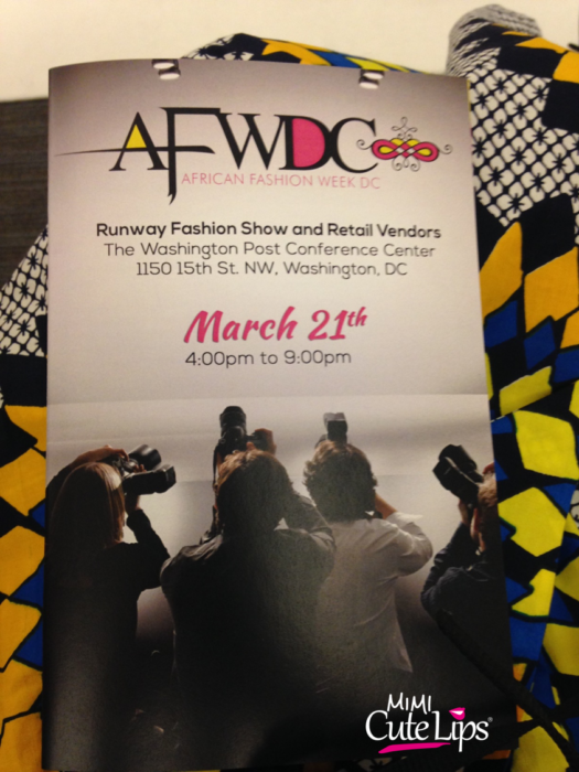 AFWDC African Fashion Week