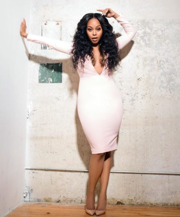 Chrisette Michele Pose 'N Post