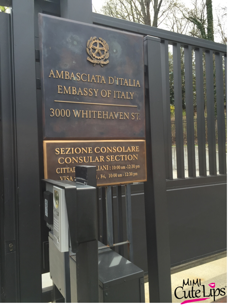Italian Embassy Washington DC