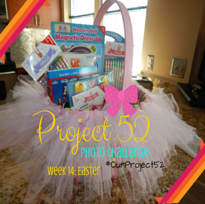 DIY Tutu basket