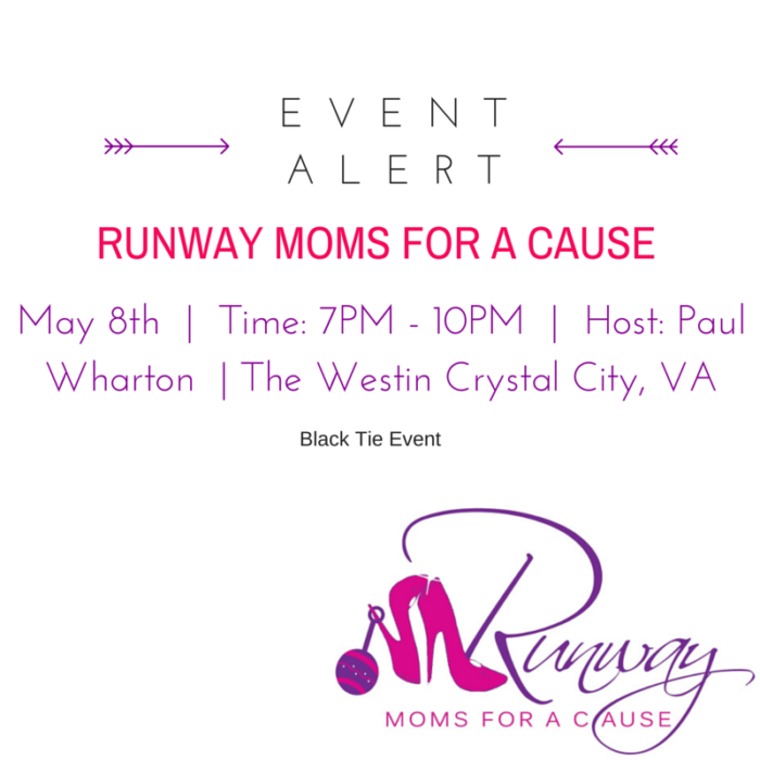 Runway Moms for a Cause 2015