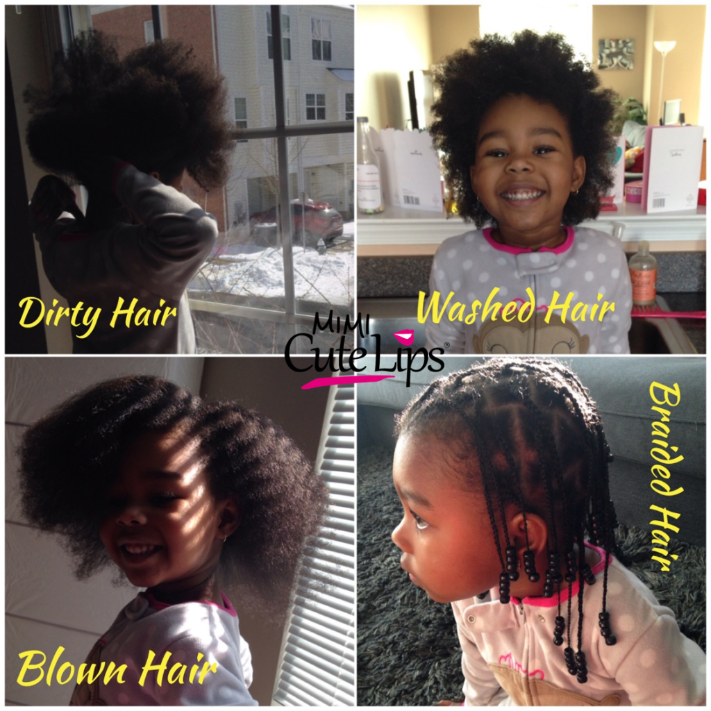 Natural Hair Routine