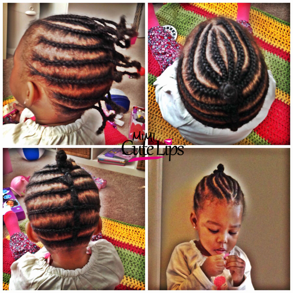 Natural Hairstyles for Kids Braid 11