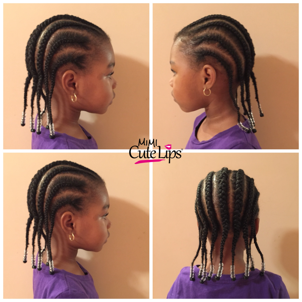 Natural Hairstyles for Kids Braid 4