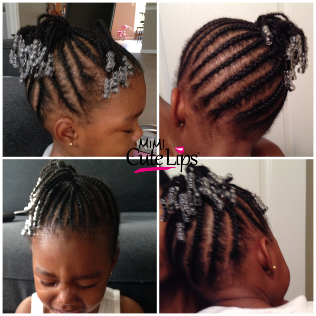 Natural Hairstyles for Kids Braid 5