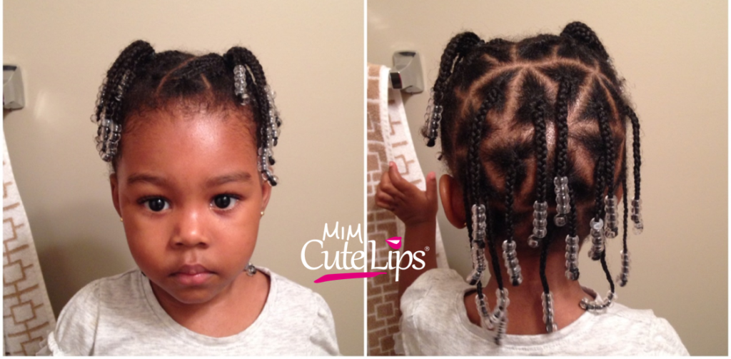 Natural Hairstyles for Kids Braid 7