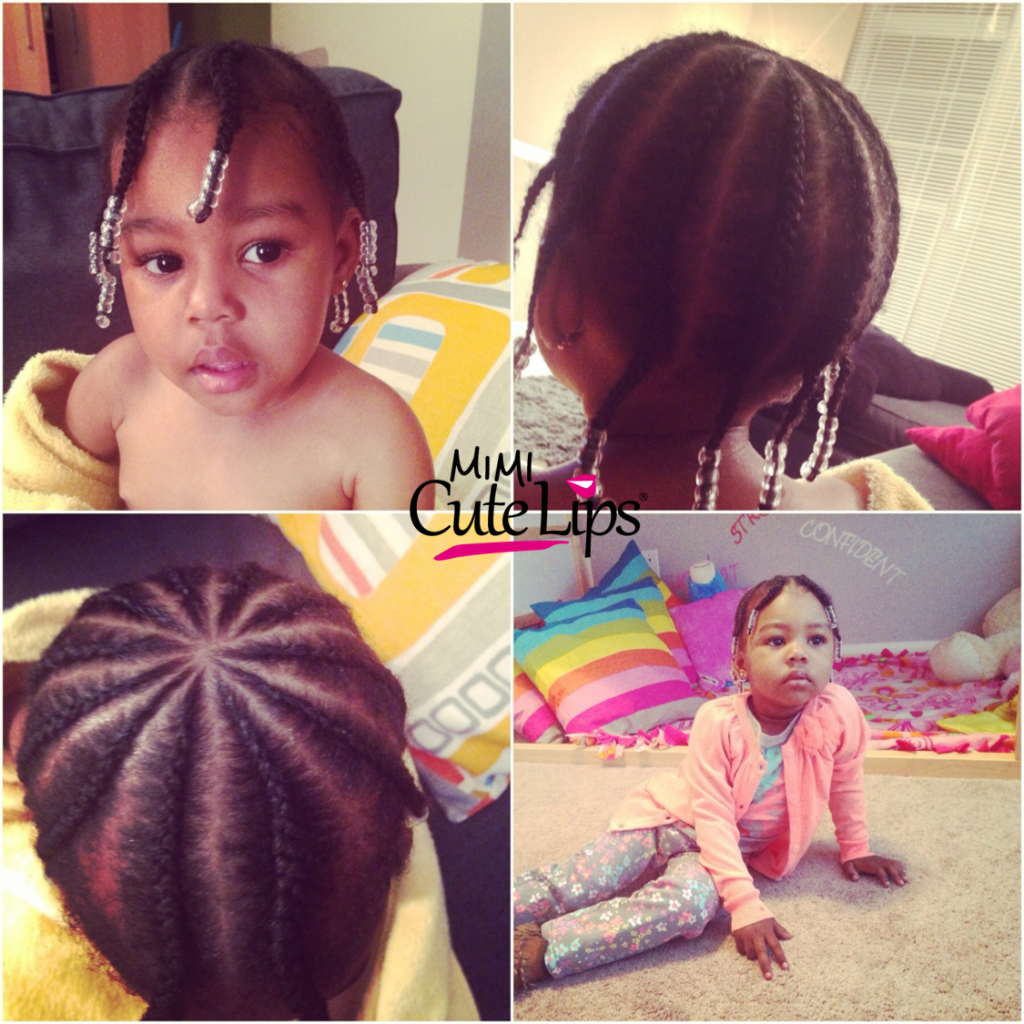 Natural Hairstyles for Kids Braid 9