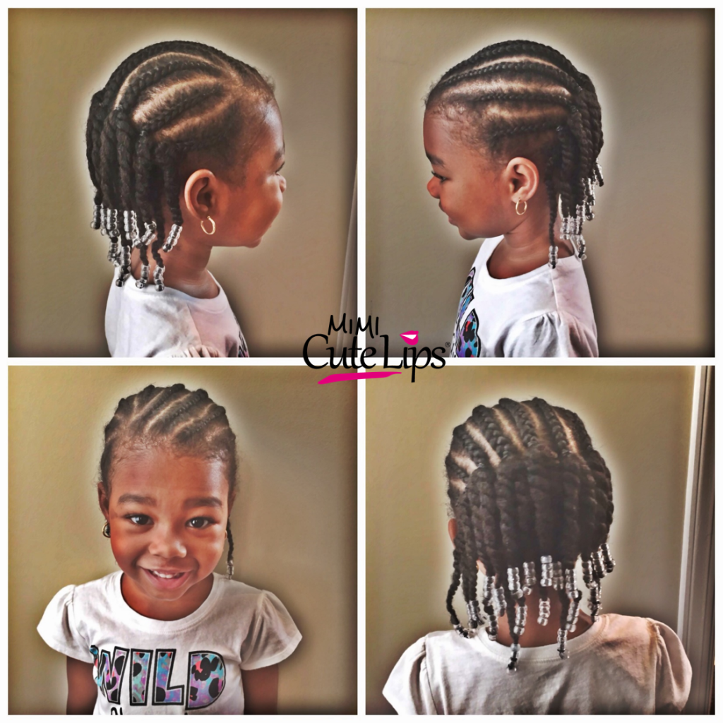 Natural Hairstyles for Kids Braid Twist 2