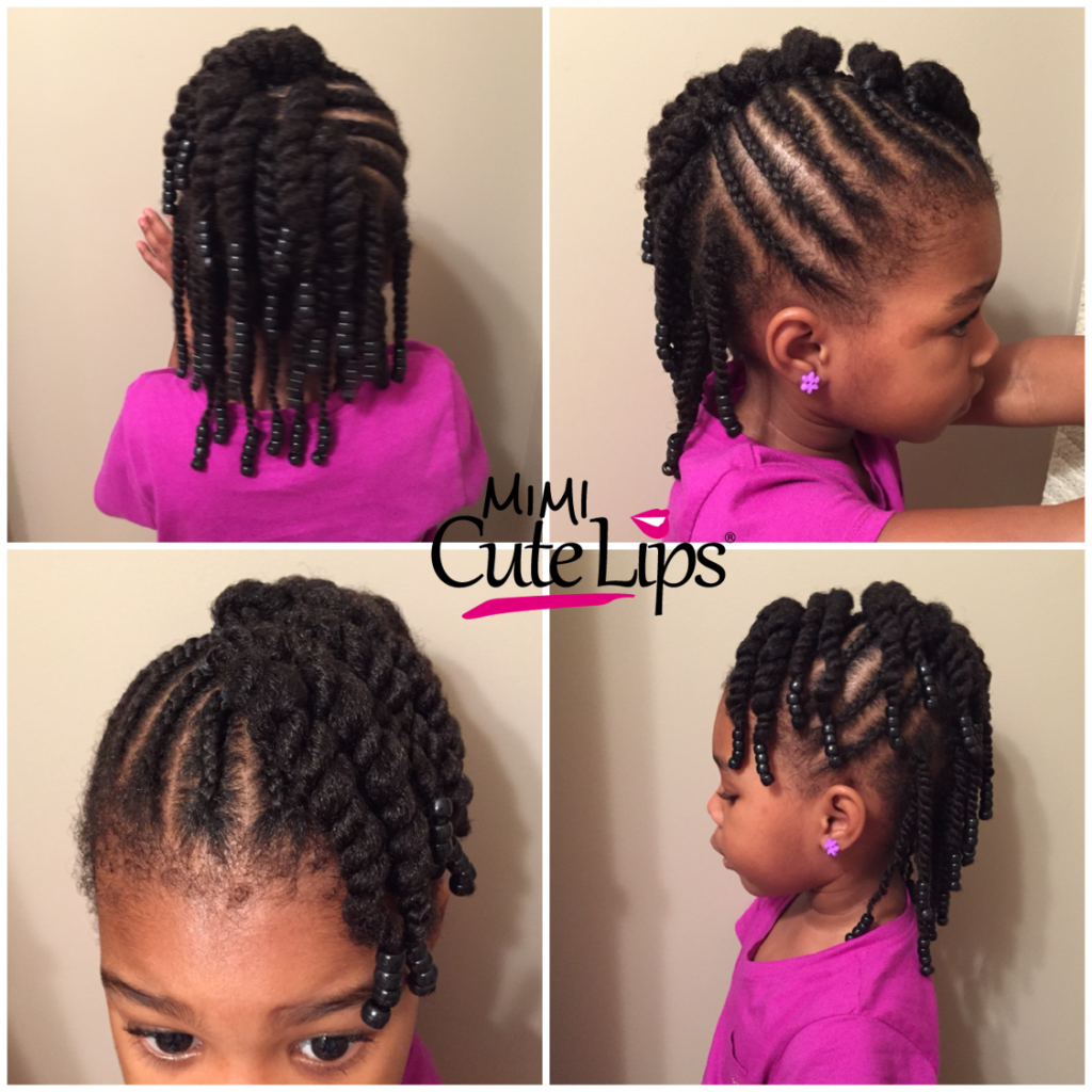 Natural Hairstyles for Kids Twist 1