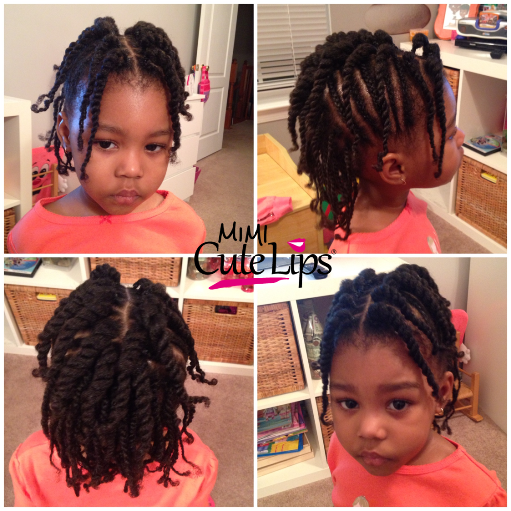 Natural Hairstyles for Kids Twist 2
