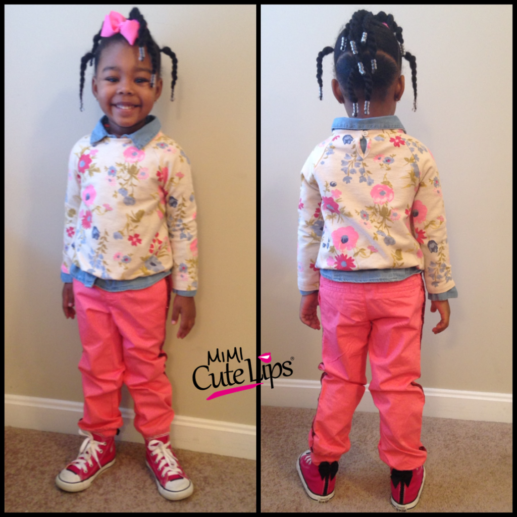 Natural Hairstyles for Kids Twist 4