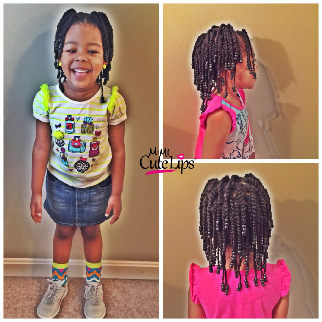 Wondrous Natural Hairstyles For Kids Mimicutelips Hairstyle Inspiration Daily Dogsangcom