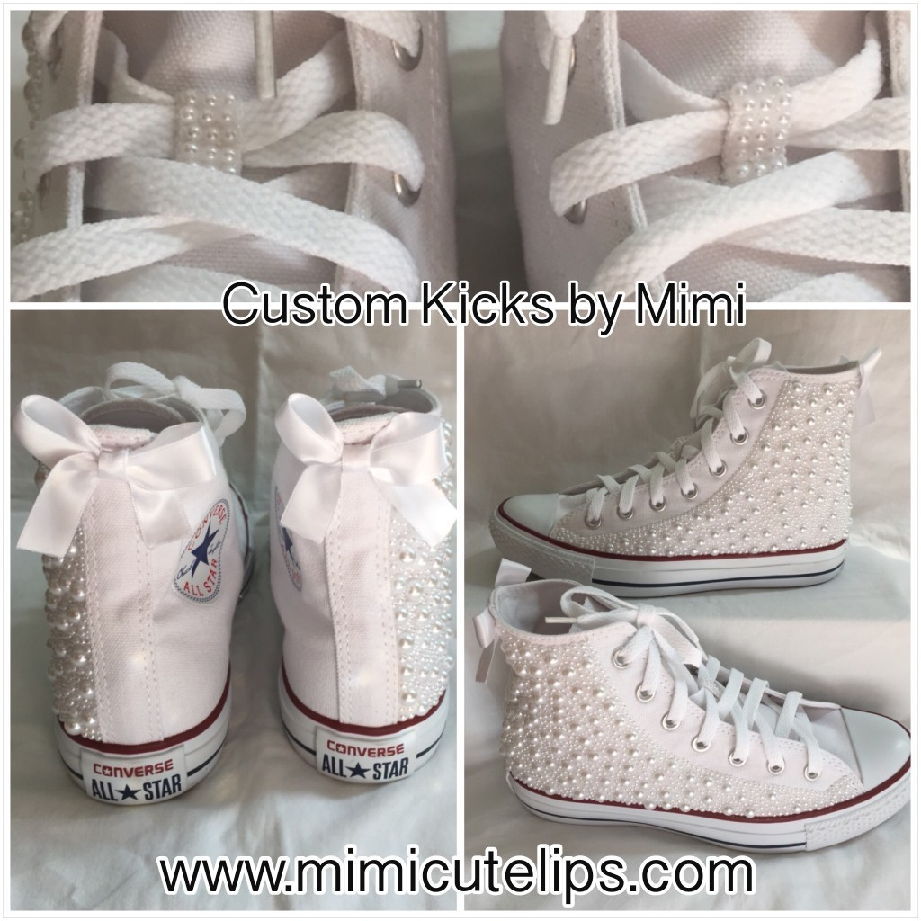 Diner en Blanc Custom Kicks by Mimi