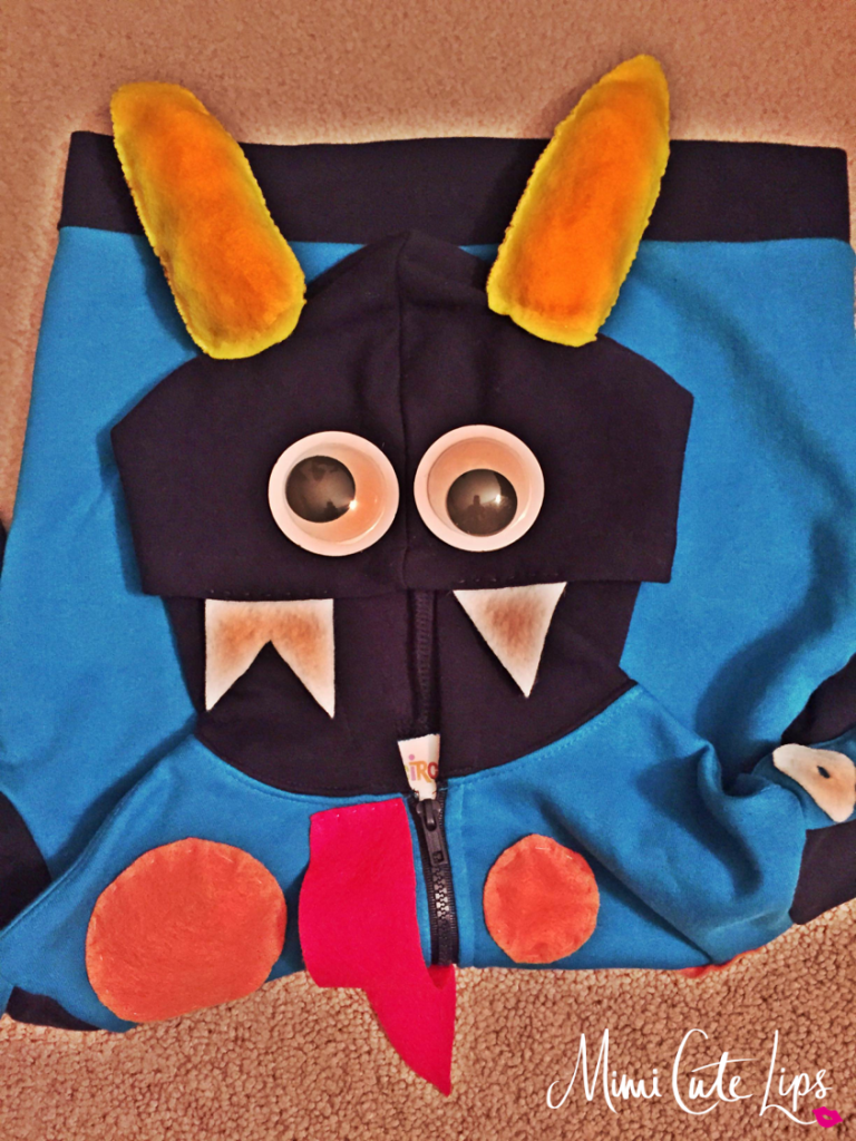 DIY Monster Costume 4