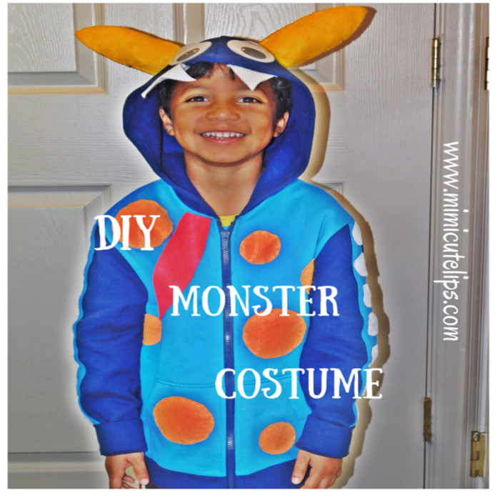 DIY Monster Costume 7