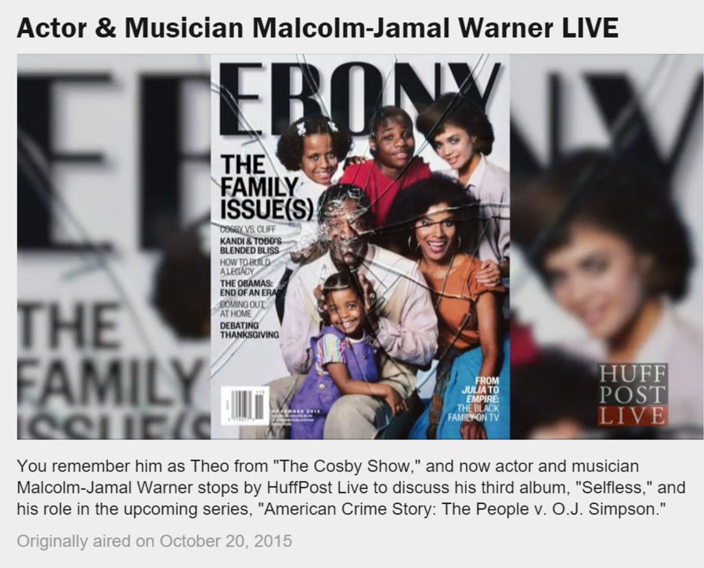 Ebony Magazine The Cosby Show