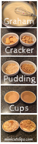 Graham Cracker Pudding Cups Banner