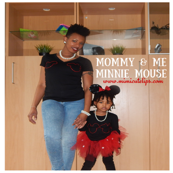 Mommy & Me Minnie Mouse