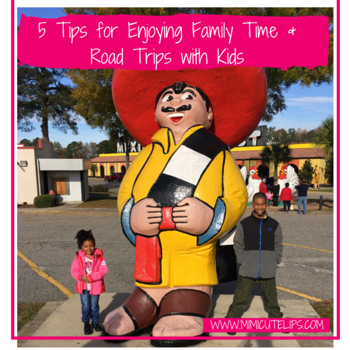 5 Tips for Enjoying Family Time & Road Trips with Kids