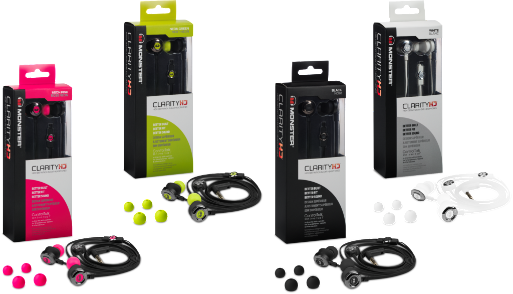 monster clarity earbuds