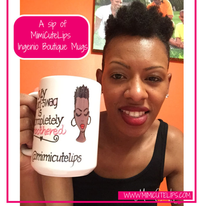 A sip of MimiCuteLips - Ingenio Boutique Mugs