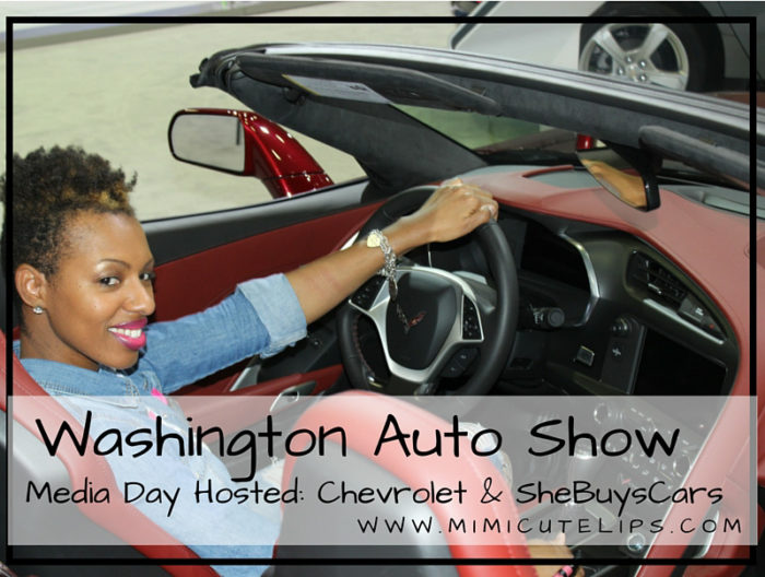 2016 Washington Auto Show - Media Day Hosted- Chevrolet & SheBuysCars #WAS16 #ChevyWAS_edited