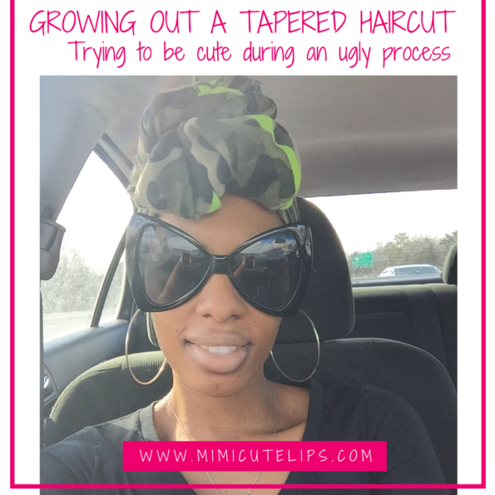 A NATURAL HAIR JOURNEY- GROWING OUT A TAPERED HAIRCUT