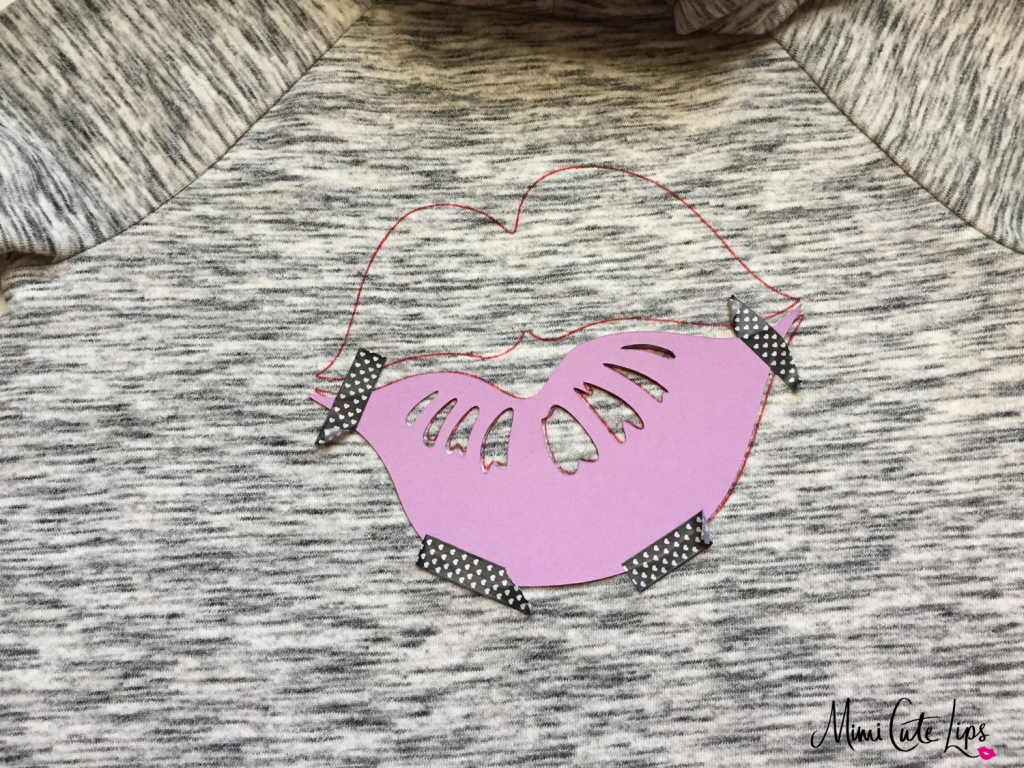 DIY Lip Shirt 4