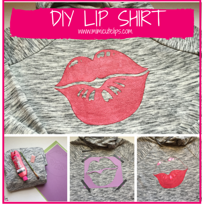 DIY Lip Shirt