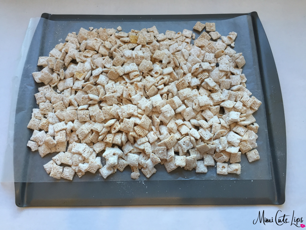 DIY Sugar Cookie Chex mix 4