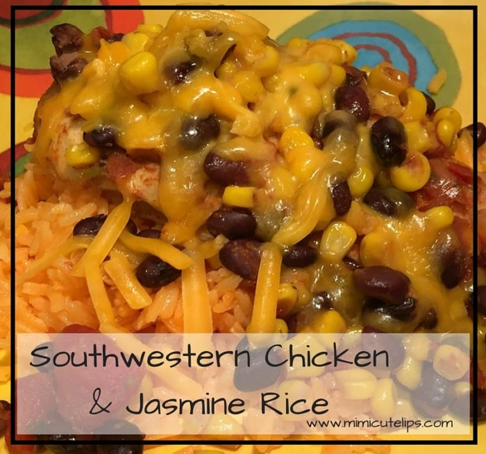 Southwestern Chicken & Jasmine Rice