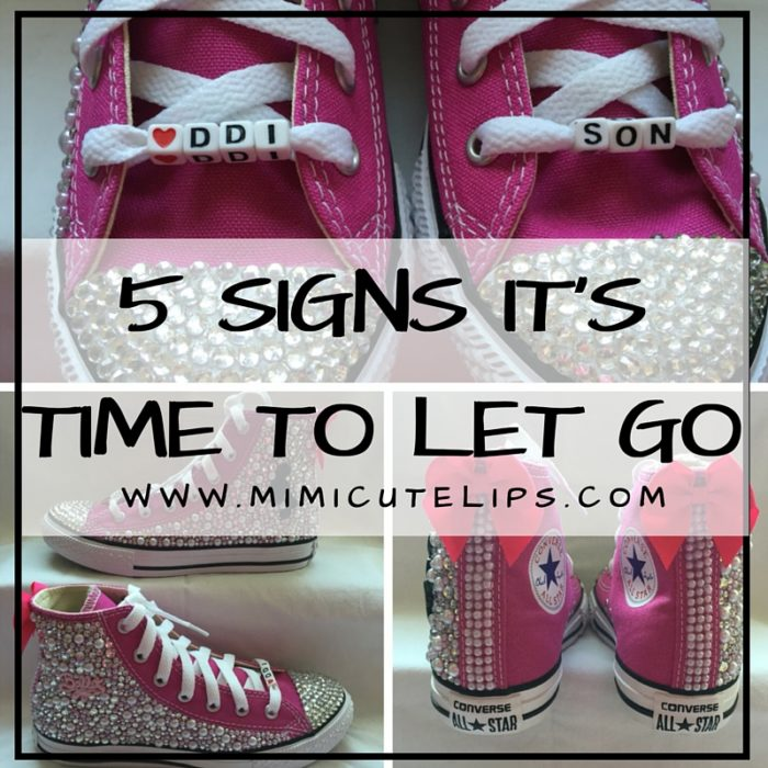 5 SIGNS IT'S TIME TO LET GO