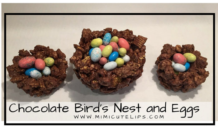 Chocolate Bird's Nest and Eggs - Perfect Spring, Easter & Earth Day Treat_edited
