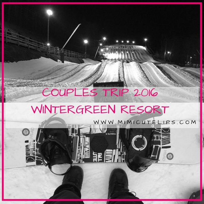Couples Trip To Wintergreen Resort up the Blue Ridge Mountains in Virginia.
